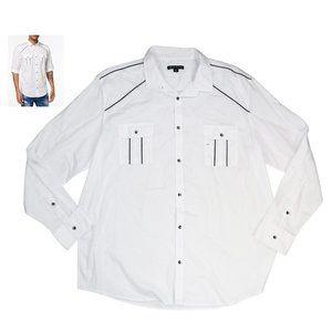 INC International Concepts Button Down Shirt NWT